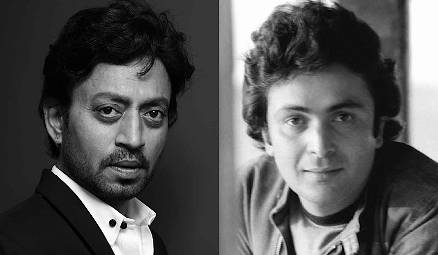 Hollywood Insider Rishi Kapoor and Irrfan Khan, Bollywood Legends, Remembrance