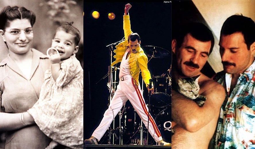 Hollywood Insider Tribute to Freddie Mercury, Rockstar, Queen, Gay Hero, LGBTQ, Jim Hutton