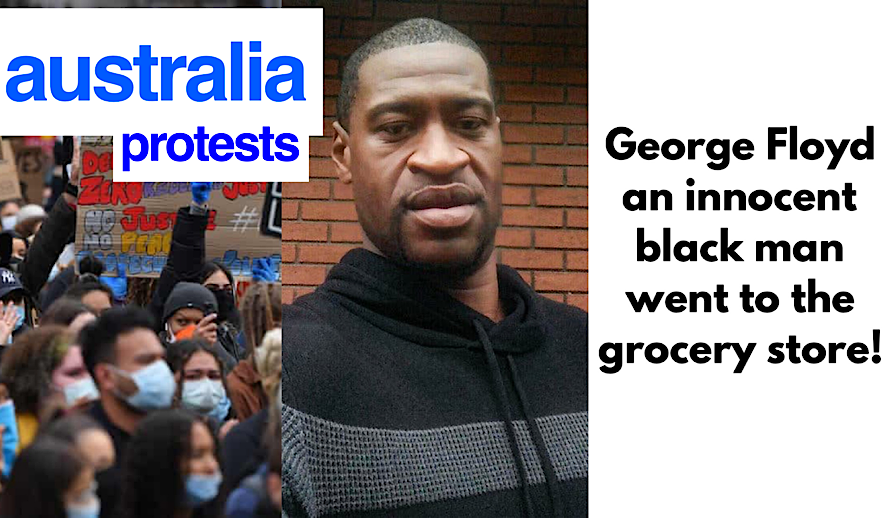 Hollywood Insider Black Lives Matter Protests Global Movement, George Floyd, Australia Protests