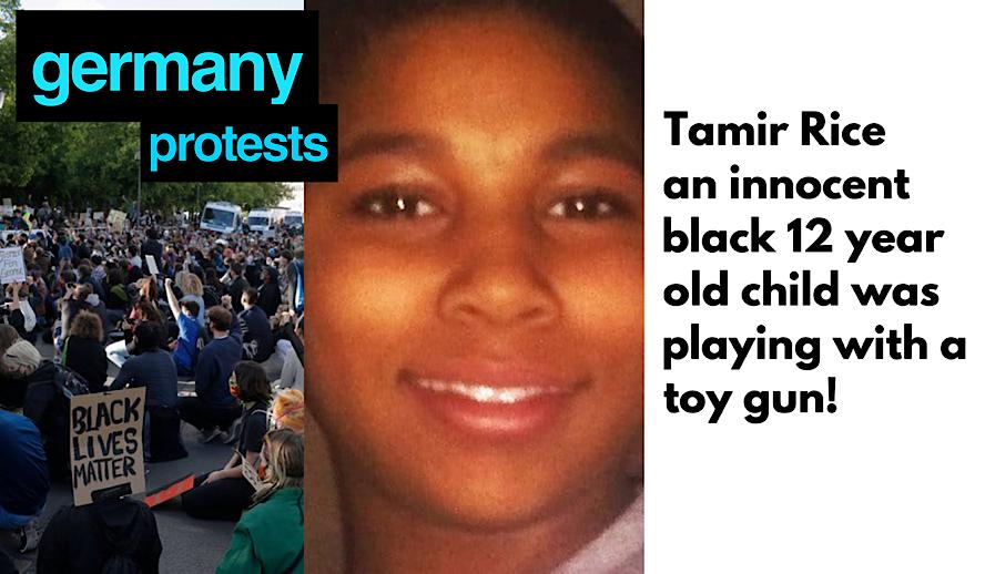 Hollywood Insider Black Lives Matter Protests Global Movement, Tamir Rice, Germany Protests