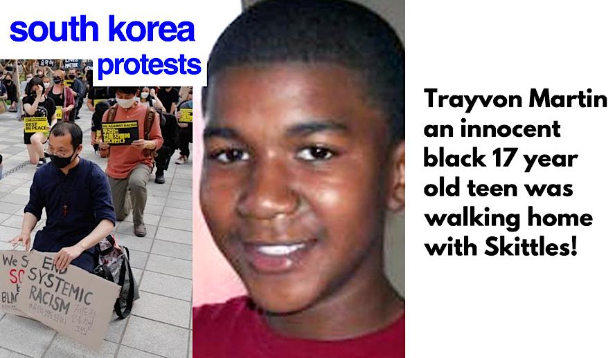 Hollywood Insider Black Lives Matter Protests Global Movement, Trayvon Martin, South Korea Protests