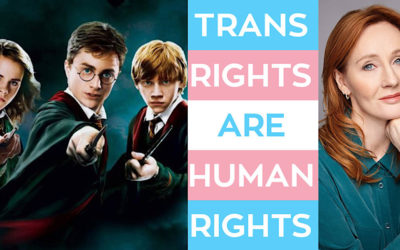'Harry Potter' Stars LOUDLY Support Trans Lives Silencing J.K. Rowling