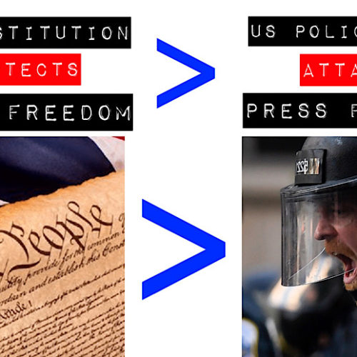 No Press Freedom in USA Anymore, Police Attacks/Arrests Journalists