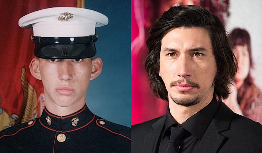 Hollywood Insider Adam Driver, Leading Man, Star Wars, Marines, Cannes