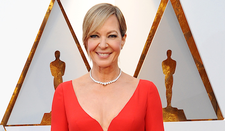 Allison Janney at the 90th Annual Academy Awards held at the Dolby Theatre in Hollywood, USA on Marc