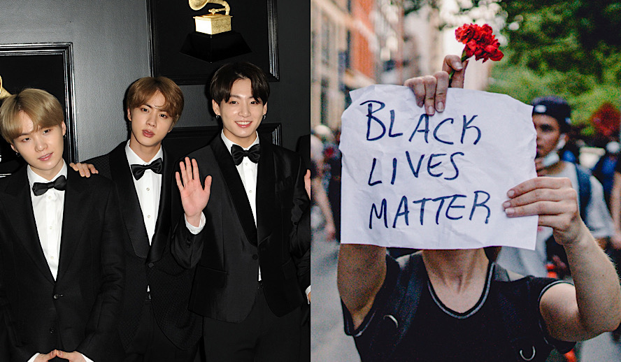 Hollywood Insider K-Pop Fans Political Activism For Better World, KPOP Black Lives Matter, USA Politics