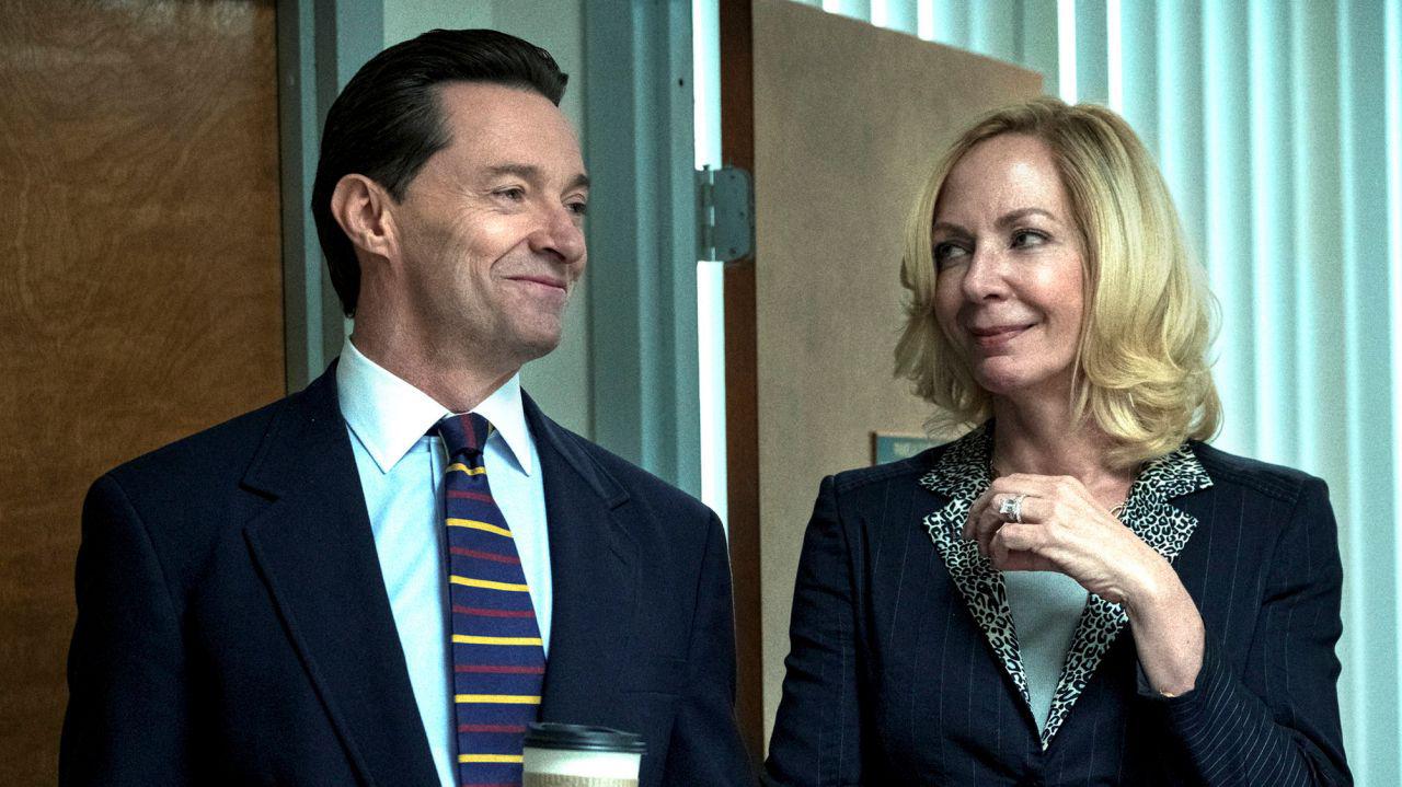 Hollywood Insider Bad Education Review, HBO, Allison Janney, Hugh Jackman