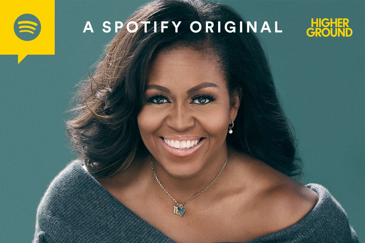 Hollywood Insider Michelle Obama Podcast, President Barack Obama, Spotify