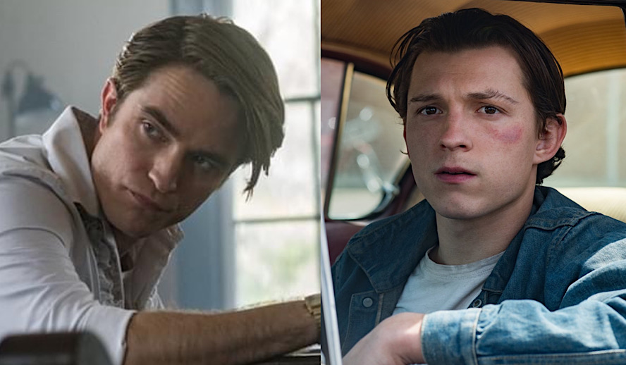 Hollywood Insider Netflix, The Devil All the Time, Robert Pattinson, Tom Holland, Sebastian Stan