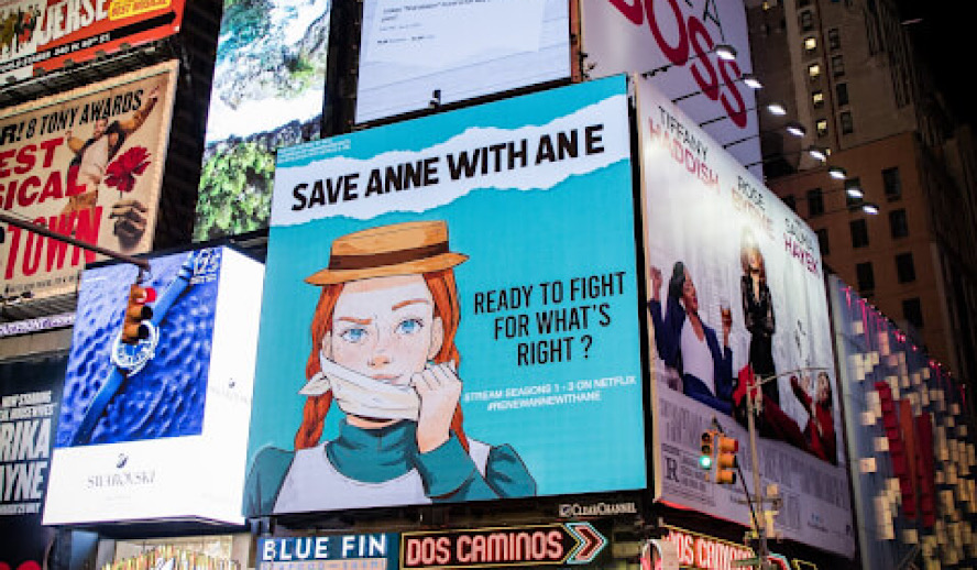 Hollywood Insider Renew Anne with an E, 1 Million Signatures