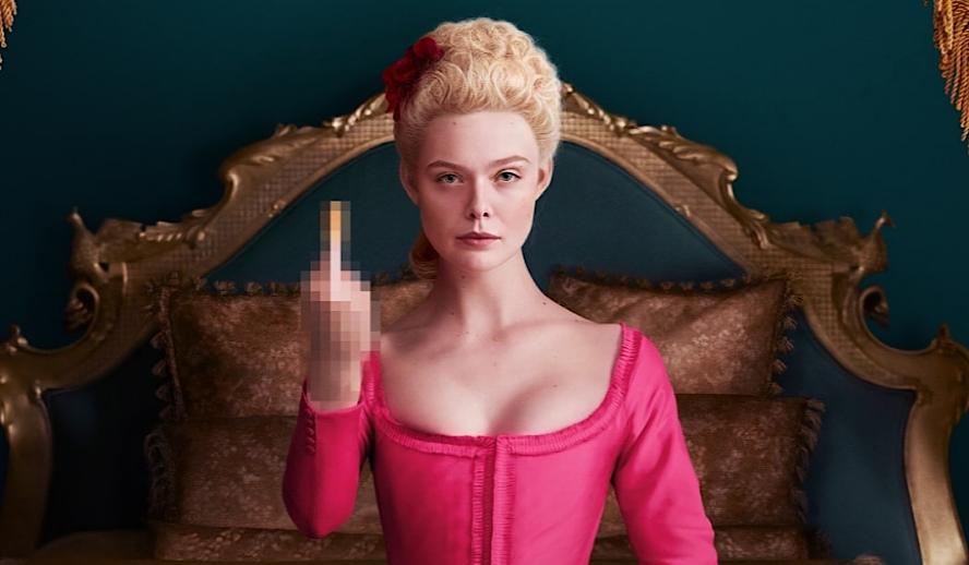 Hollywood Insider The Great Hulu, Elle Fanning, Nicholas Hoult