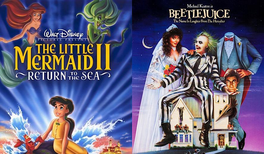 Hollywood Insider The Little Mermaid, Beetlejuice, Classics Sequel