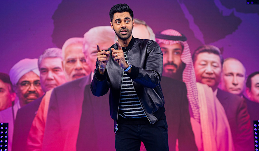 Hollywood Insider The Patriot Act with Hasan Minhaj
