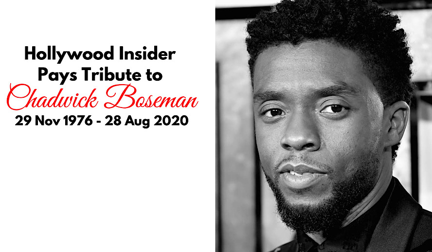 Hollywood Insider Chadwick Boseman Tribute, Black Panther