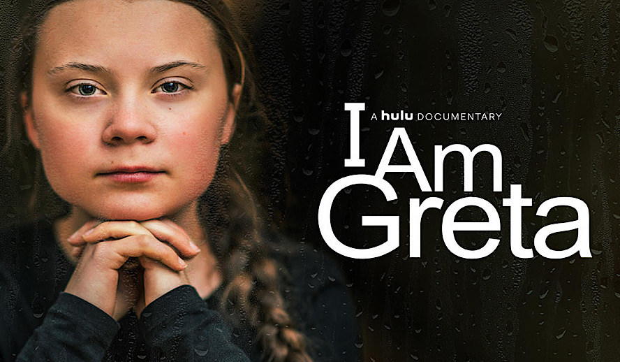 Hollywood Insider Greta Thunberg, I Am Greta Documentary, TIFF, Climate Change