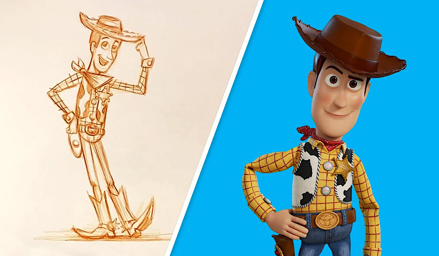 Hollywood Insider Pixar Drawing Tutorial, Toy Story Movies
