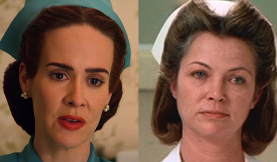 Hollywood Insider Ratched Netflix, Sarah Paulson, One Flew Over the Cuckoo's Nest