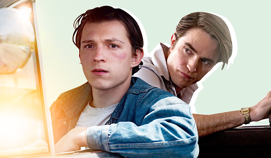 Hollywood Insider The Devil All the Time Review, Tom Holland, Robert Pattinson, Netflix