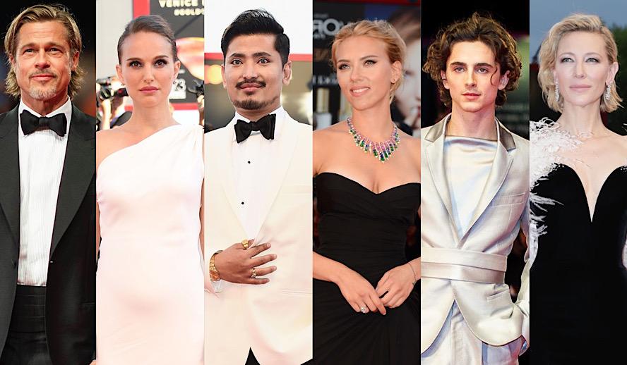 Hollywood Insider Venice Film Festival, Brad Pitt, Natalie Portman, Pritan Ambroase, Scarlett Johansson, Timothee Chalamet, Cate Blanchett