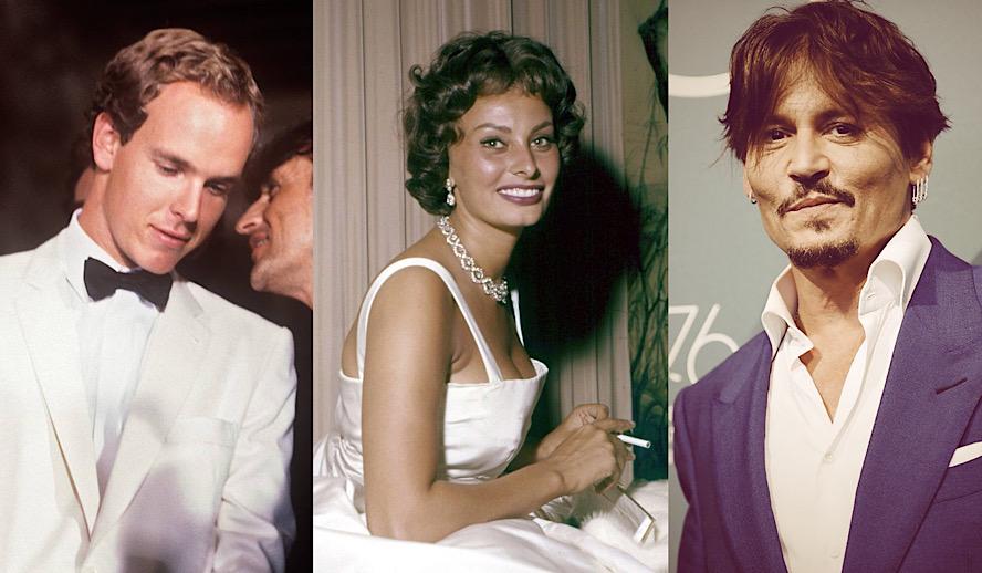 Hollywood Insider Venice Film Festival, Prince Albert of Monaco, Sophia Loren, Johnny Depp