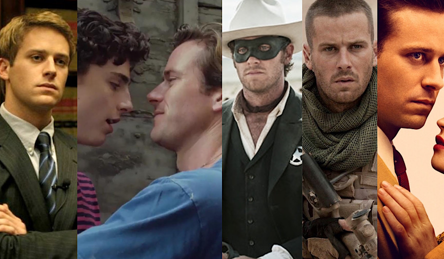 Hollywood Insider Armie Hammer Roles and Performances From All His Movies and TV Shows, 2006 to 2020