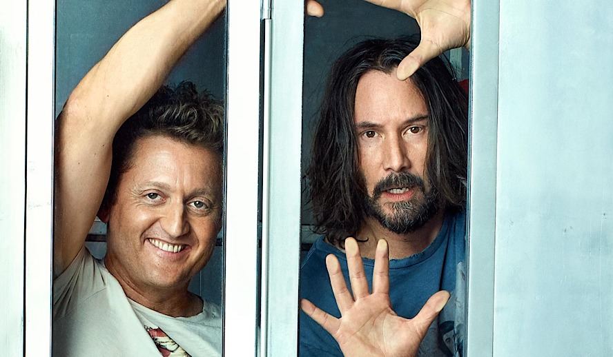 Hollywood Insider Bill And Ted Face The Music, Keanu Reeves, Alex Winter