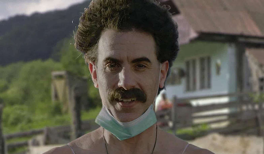 Hollywood Insider Borat 2 Review, Borat Subsequent Moviefilm