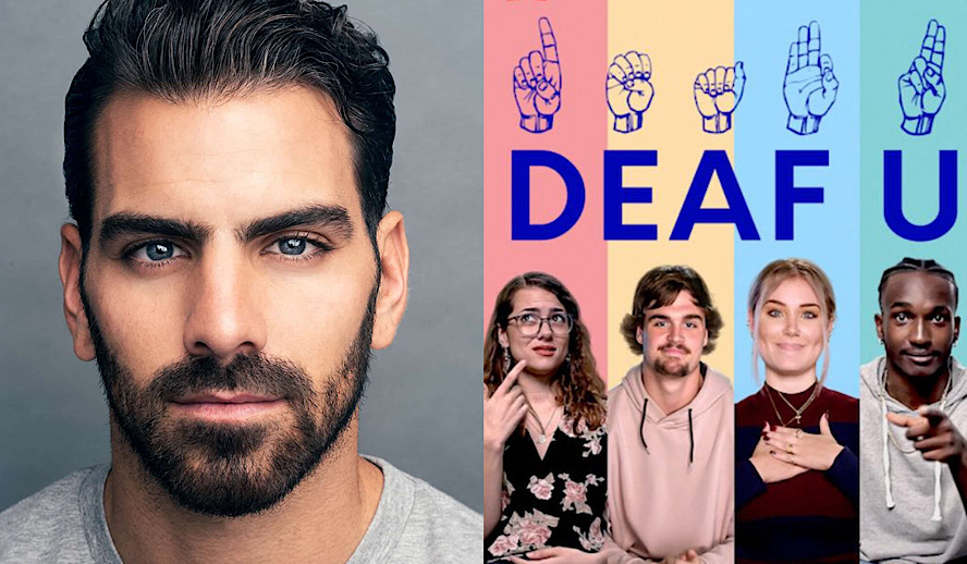 Hollywood Insider Deaf U Review, Nyle DiMarco, Netflix