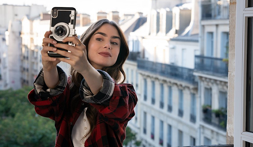 Hollywood Insider Emily in Paris Review, Netflix, Lily Collins