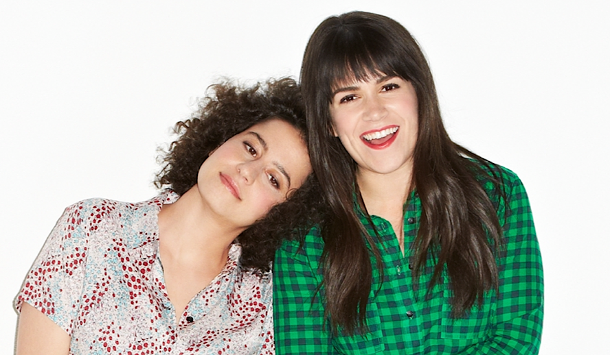 Hollywood Insider Gals of Broad City, Illana Glazer, Abbi Jacobson