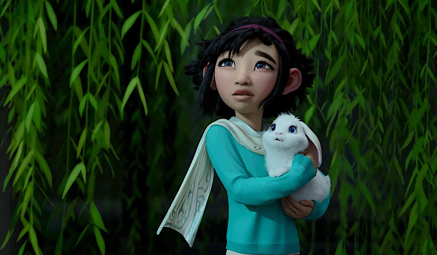 Hollywood Insider Over the Moon Review, Netflix, Asian Films, Animation