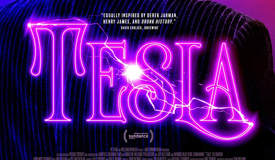 Hollywood Insider Tesla Review, Nikola Tesla Biopic, Ethan Hawke