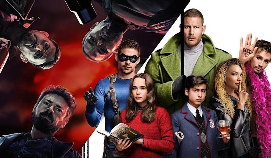 Hollywood Insider The Boys Series VS The Umbrella Academy, Superhero TV Shows