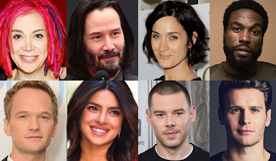 Hollywood Insider The Matrix 4 Updates, Keanu Reeves, Lana Wachowski, Brian J Smith, Priyanka Chopra Jonas, Carrie Ann Moss