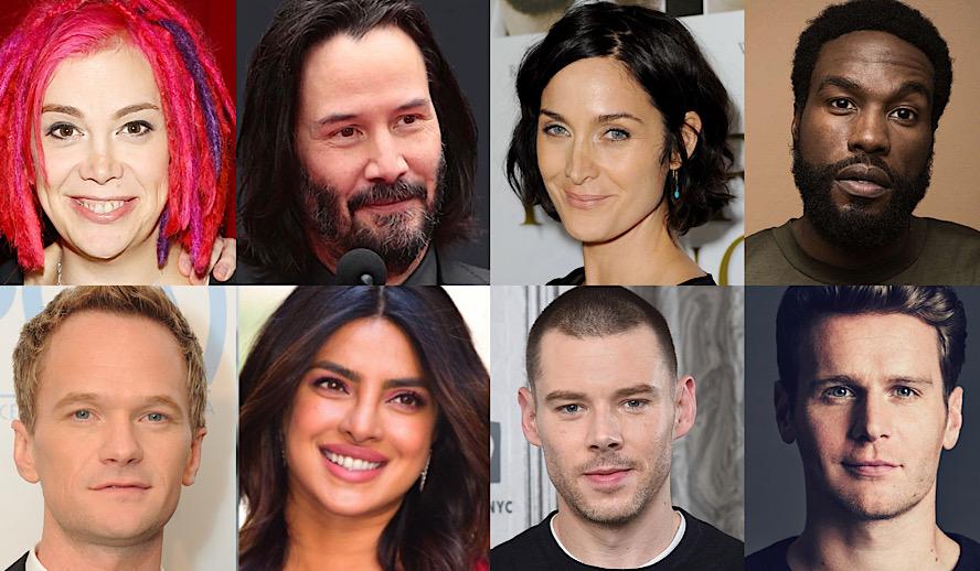 Hollywood Insider The Matrix 4 Updates, Keanu Reeves, Lana Wachowski, Brian J Smith, Priyanka Chopra Jonas, Carrie Ann Moss