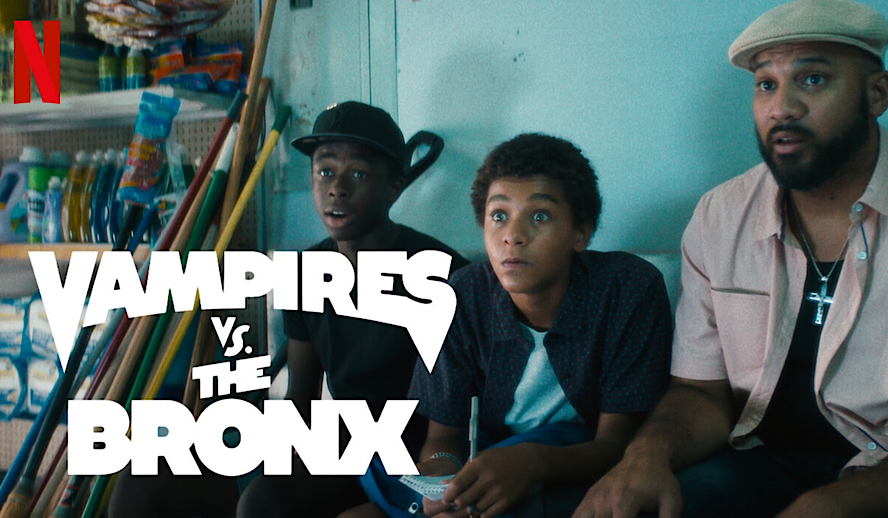 Hollywood Insider Vampires vs the Bronx Review, Comedy Horror, Netflix Movie