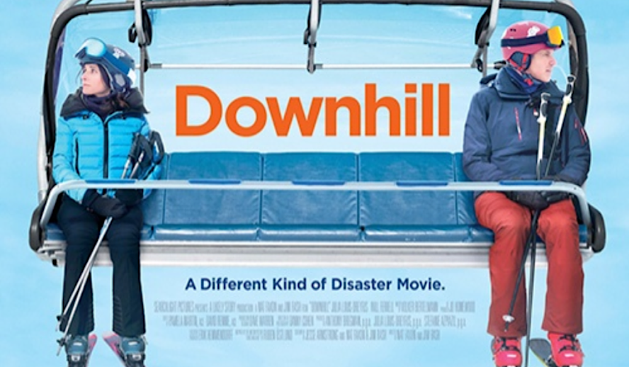 Hollywood Insider Downhill Review, Will Ferrell, Julia Louis-Dreyfus