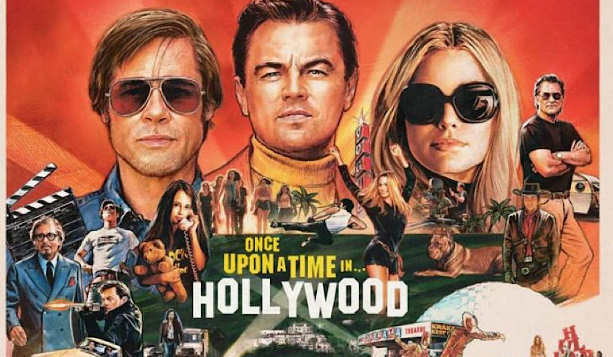 Hollywood Insider Once Upon a Time in Hollywood Review, Leonardo DiCaprio, Brad Pitt, Tarantino