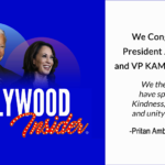 President Joe Biden & VP Kamala Harris - Hollywood Insider Congratulates Our Official Endorsements!