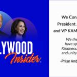 President Joe Biden & VP Kamala Harris - Hollywood Insider Congratulates Our Official Endorsements!