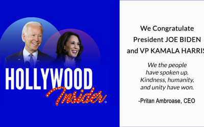 President Joe Biden & VP Kamala Harris – Hollywood Insider Congratulates Our Official Endorsements!