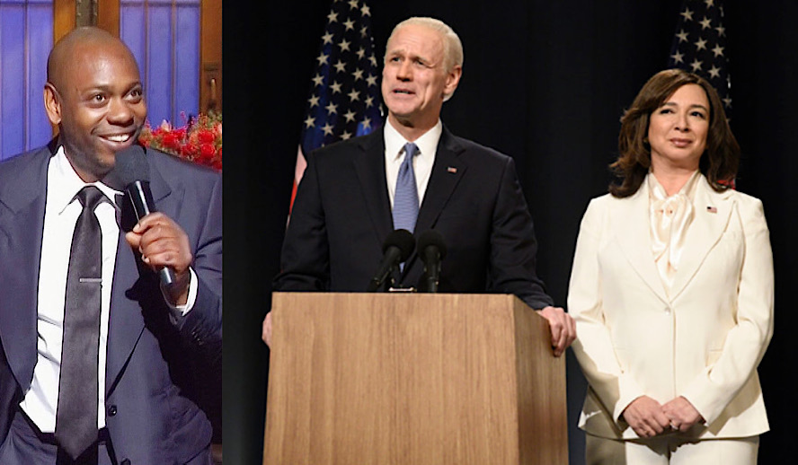 Hollywood Insider Saturday Night Live Post-Election President Joe Biden, Dave Chappelle