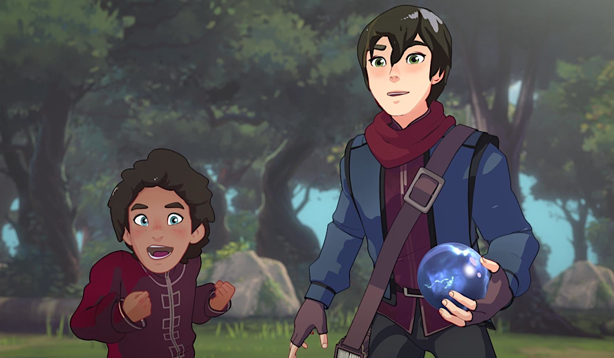 Hollywood Insider The Dragon Prince Review, Netflix