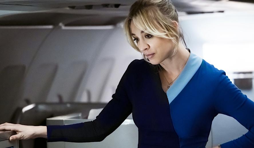 Hollywood Insider The Flight Attendant, HBO MAX, Kaley Cuoco, Horror, Comedy