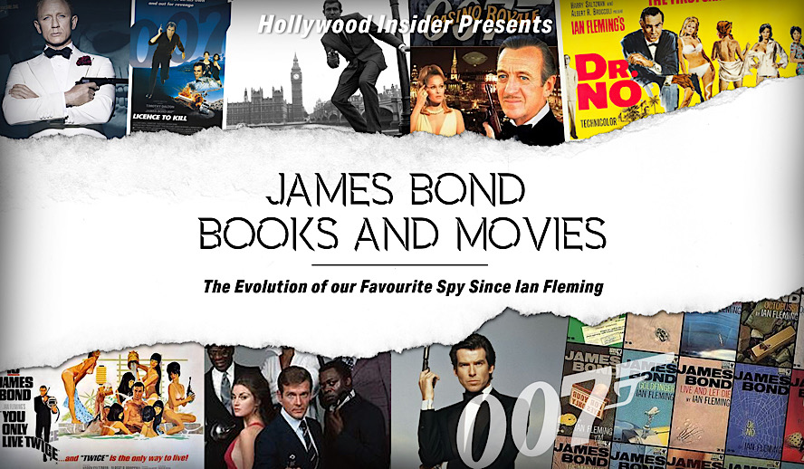 Hollywood Insider James Bond Books and Movies, 007 Evolution, Ian Fleming Franchise