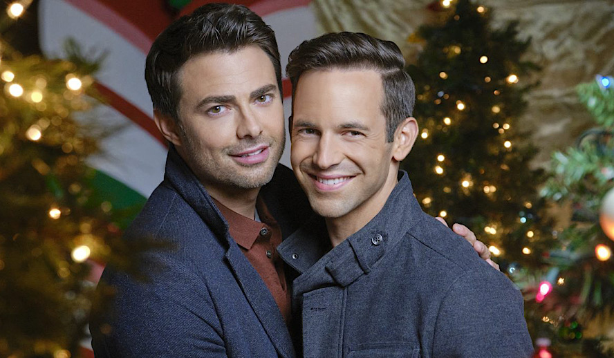 Hollywood Insider Queer Holiday Movies Importance, Hallmark, Gay, Lesbian