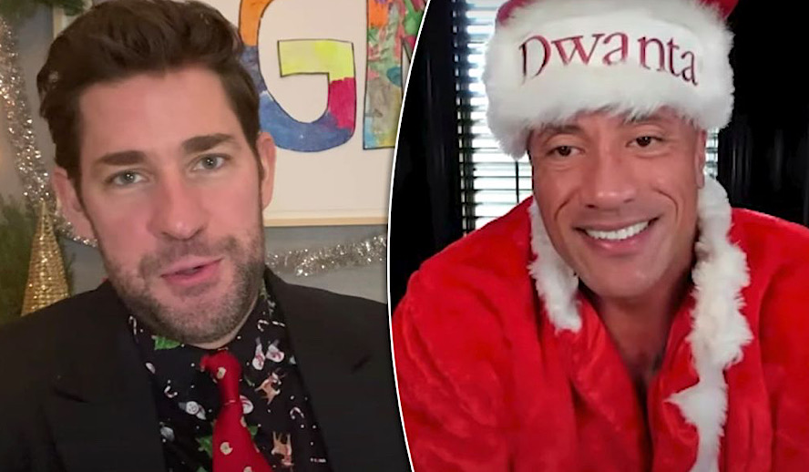 John Krasinski's Some Good News Returns with Some Good Men - Dwayne Johnson, George Clooney & More