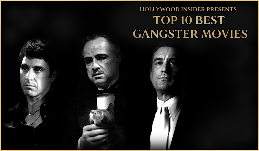 Top 10 Best Gangster Movies, Ranked, from 'Scarface' to 'The Godfather'