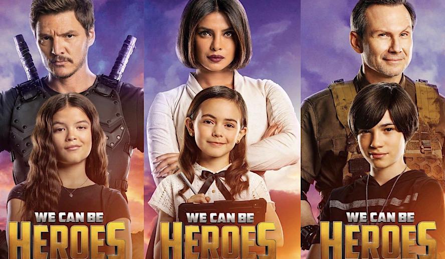 Hollywood Insider We Can Be Heroes Review, Netflix, Priyanka Chopra Jonas, Robert Rodriguez, Pedro Pascal