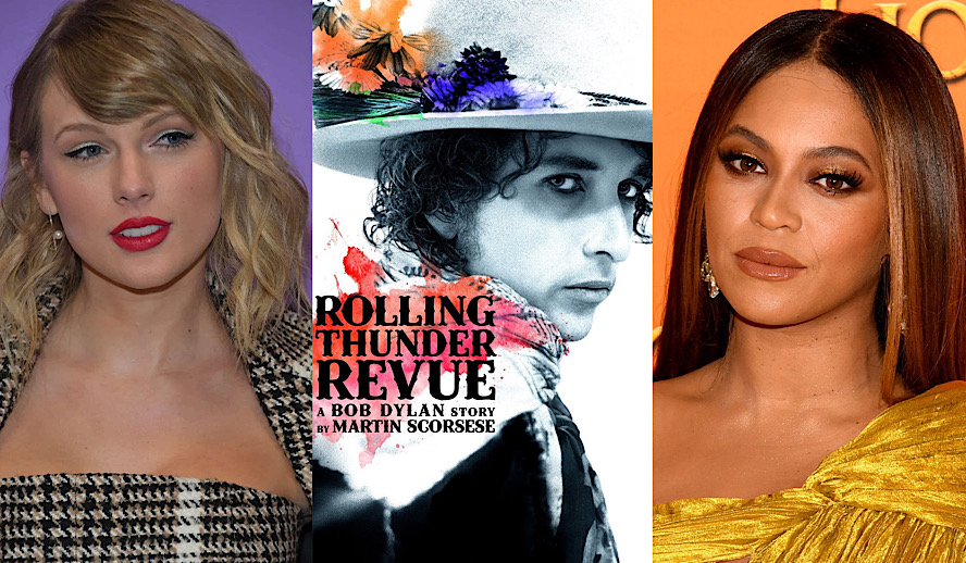 Hollywood Insider Best Music Documentaries, Taylor Swift, Beyonce, Bob Dylan